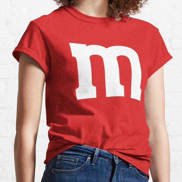 MÁS VENDIDO Disfraz de caramelo rojo Camiseta clásica