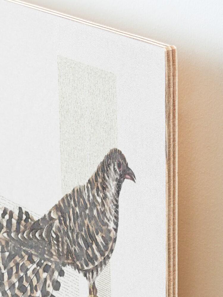 Alternate view of Cuckoo, cuckoo Mounted Print