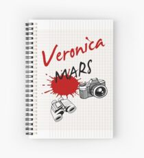 Veronica Mars Spiral Notebook