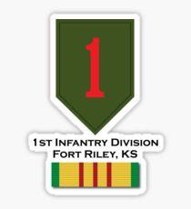 1st Infantry Vietnam Sticker