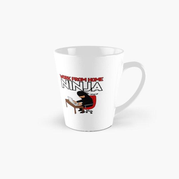 Work from Home Ninja Red Tall Mug