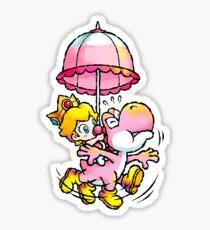 Baby Peach & Yoshi Sticker