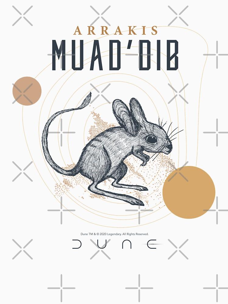 Dune 2020 Muad'Dib by SvartInk