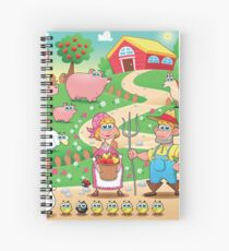 Animal farm Spiral Notebook