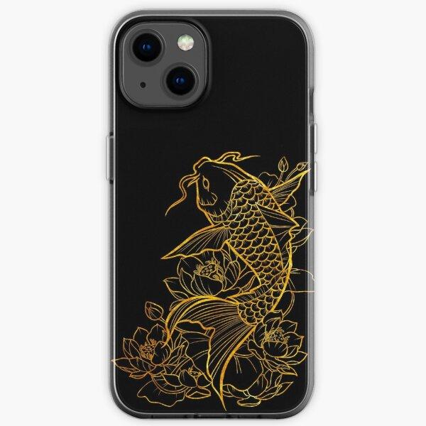 Gold Koi iPhone Soft Case