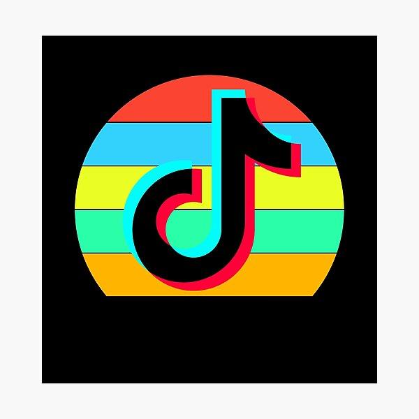 Aesthetic Tiktok Logo Photographic Prints | Redbubble