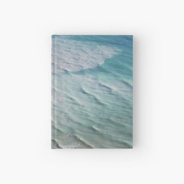 Chalk cliffs towering white ocean Hardcover Journal