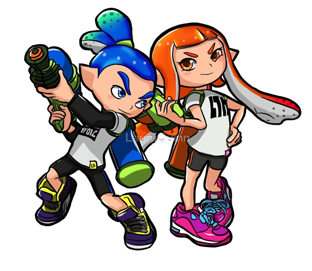 """""""Inkling Boy And Girl"""" By LauryQuinn"""