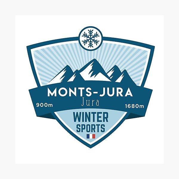 SOUVENIRS DE MONTAGNE : MONTS JURA - JURA Photographic Print