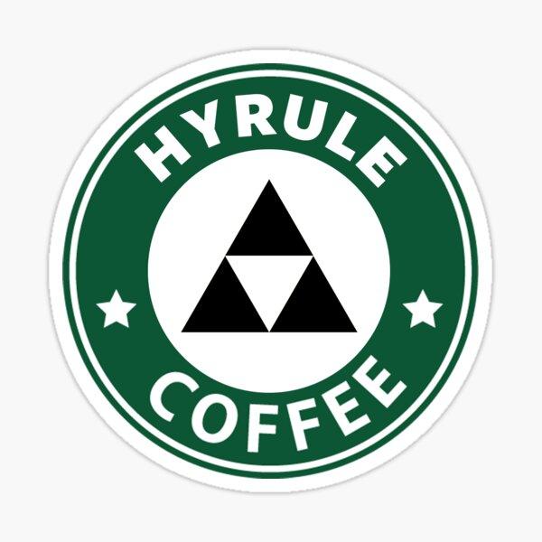 Hyrule Coffee Sticker
