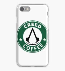 Creed Coffe  iPhone Case/Skin