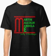 Martin Malcom Mandela Me Classic T-Shirt