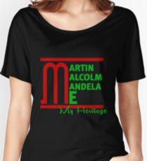 Martin Malcom Mandela Me Women's Relaxed Fit T-Shirt