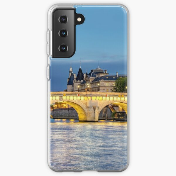 Pont Neuf Paris 02 Samsung Galaxy Soft Case