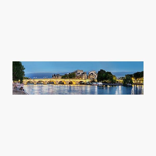 Pont Neuf Paris 02 Photographic Print