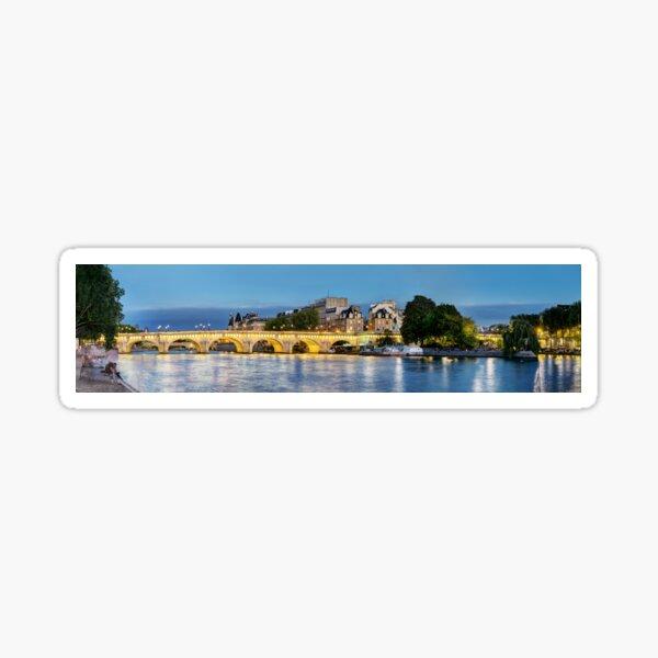 Pont Neuf Paris 02 Sticker