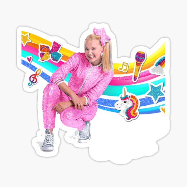 jojo siwa mask, stickers, mug best Gift for kids Sticker