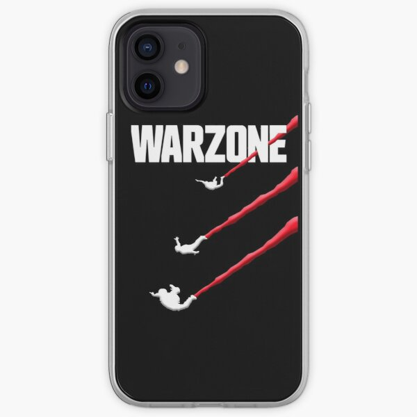 Warzone Dropping In iPhone Soft Case