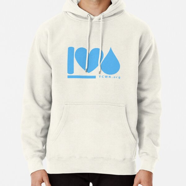 I-HEART-WATER Pullover Hoodie