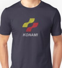 Konami Logo (Original - Distressed) Unisex T-Shirt