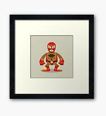 Luchador Framed Print
