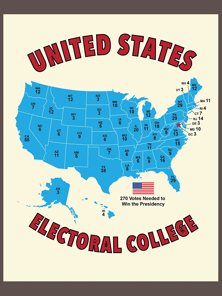 United States Electoral College Vote 2020 by BruceJones12
