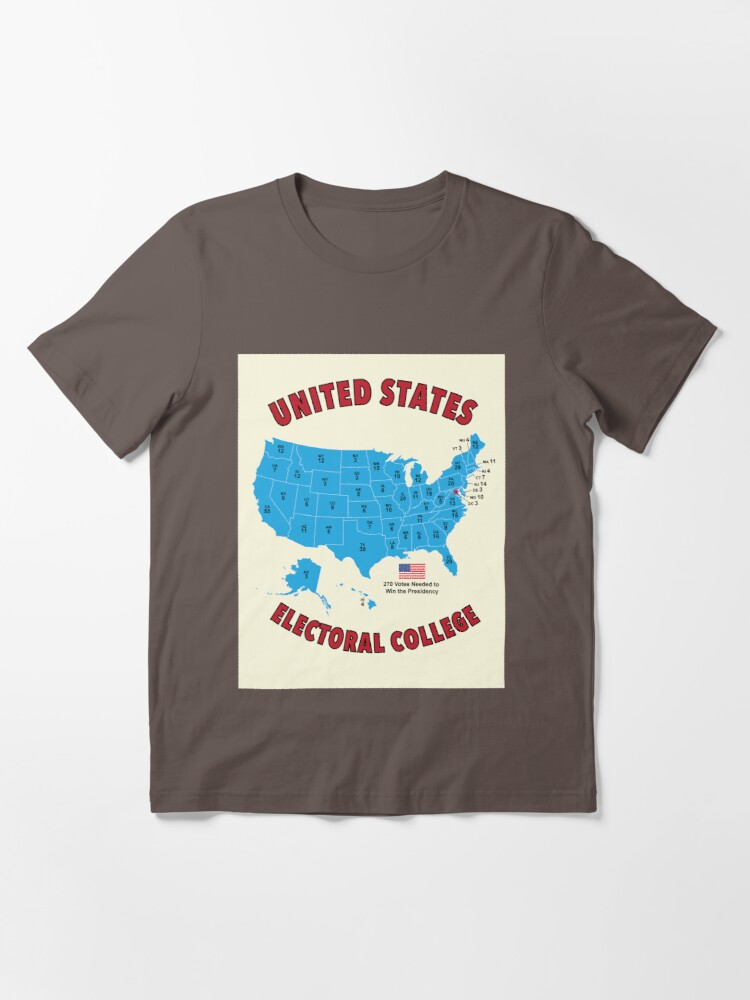 Alternate view of United States Electoral College Vote 2020 Essential T-Shirt