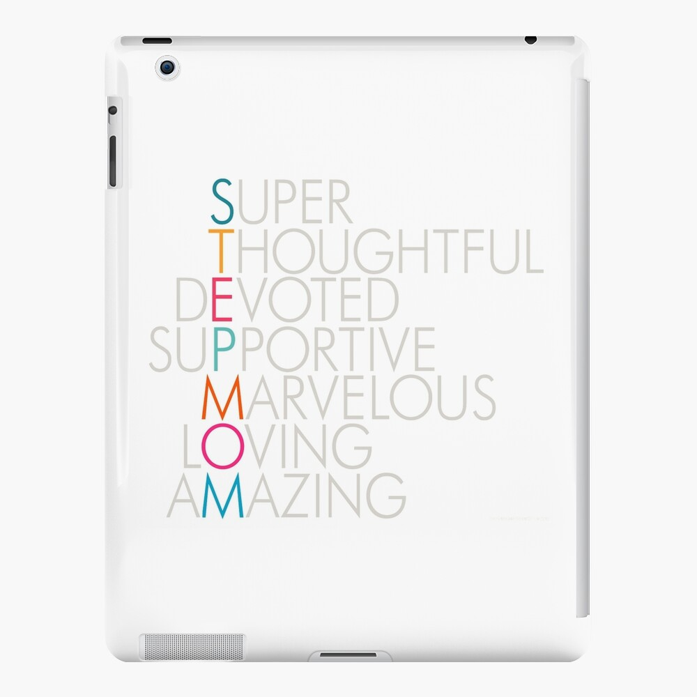 Superlative Stepmom iPad Case & Skin