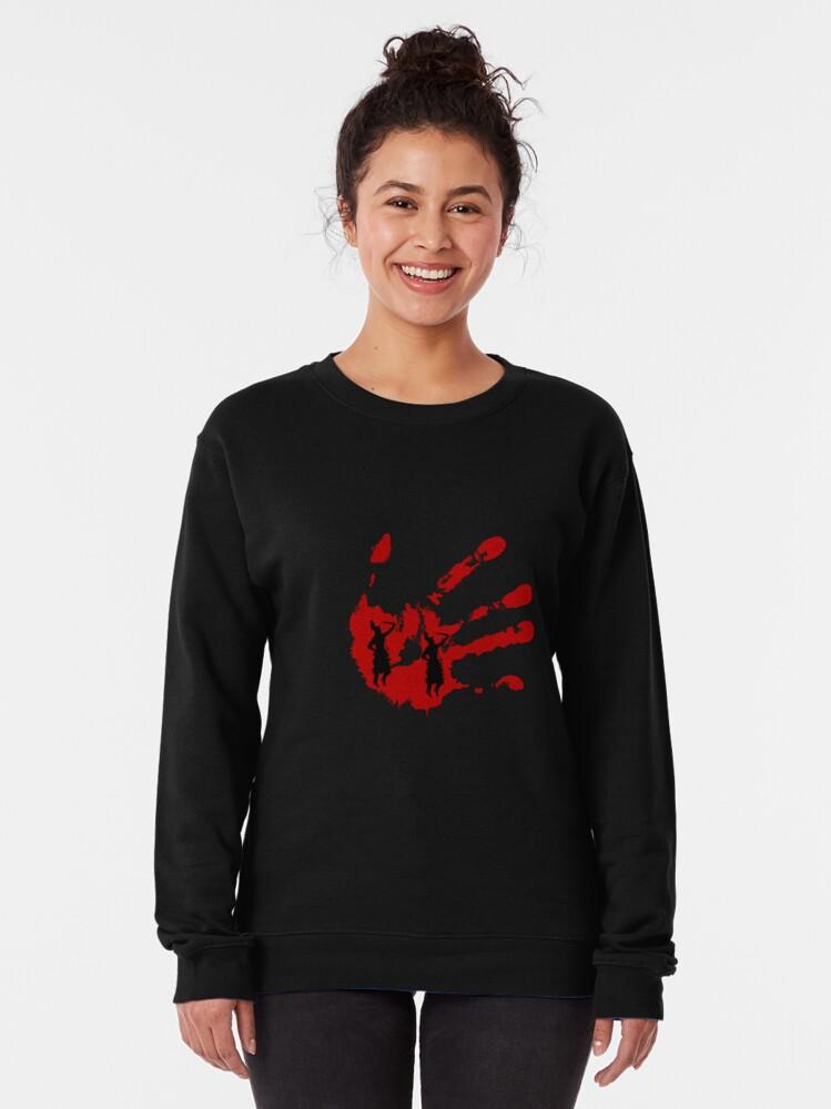Alternate view of no more stolen sisters -MMIW Pullover Sweatshirt
