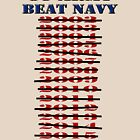 Go Army - Beat Navy - Please win one in 2016 -Since this T-shirt was made, Army has won 2 years in a row... coincedence? Maybe not! by Buckwhite