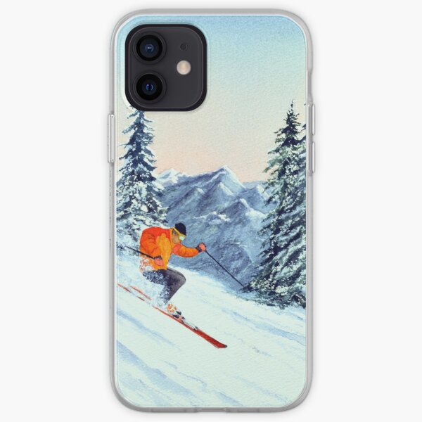 Skiing - The Clear Leader iPhone Soft Case