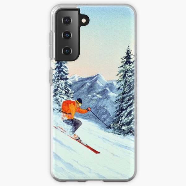 Skiing - The Clear Leader Samsung Galaxy Soft Case