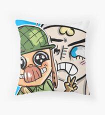 Enel Throw Pillow