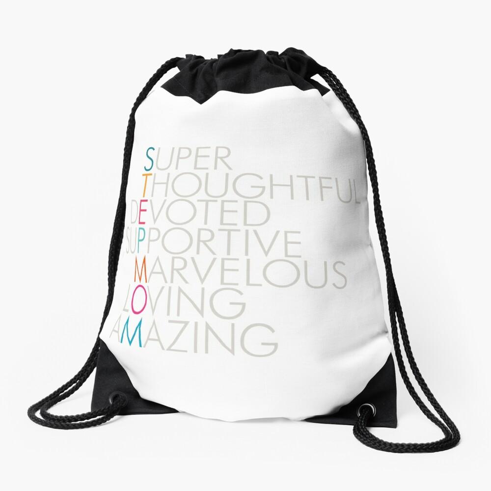Superlative Stepmom Drawstring Bag