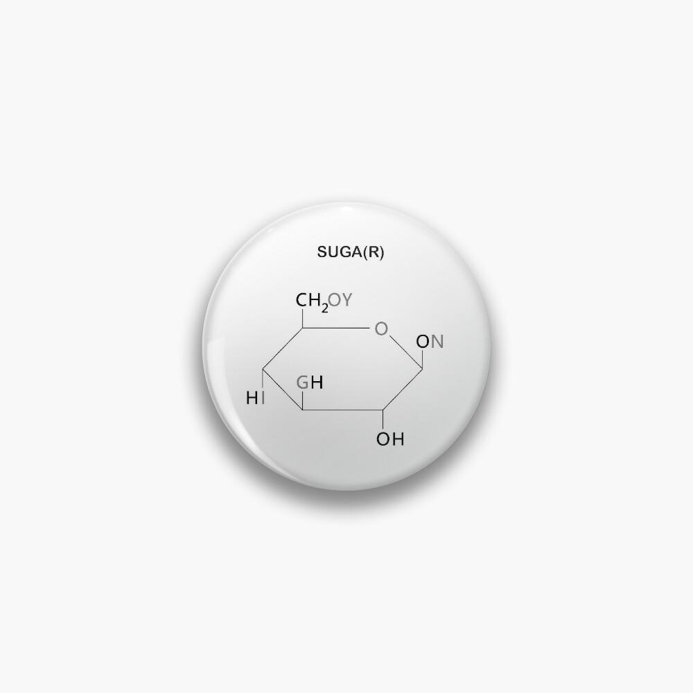 BTS Yoongi Compound Suga(r) Pin