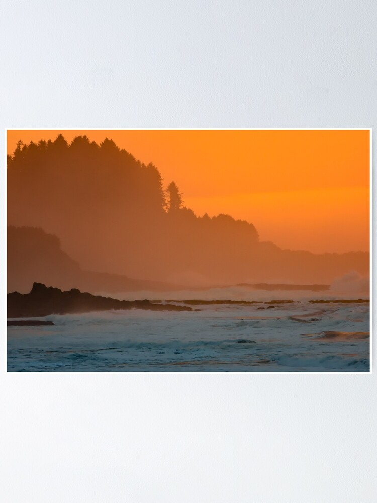 Alternate view of Ocean Sunset Poster
