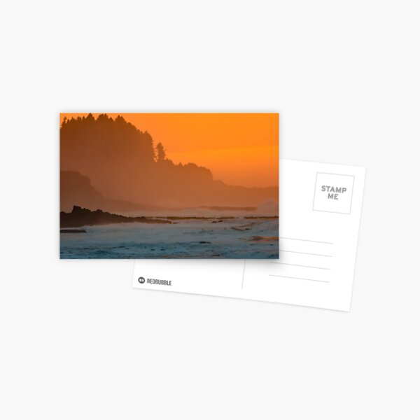 Ocean Sunset Postcard