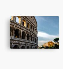 Legacy of history - Colosseum Canvas Print