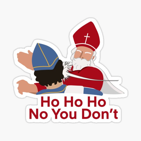 Saint Nicholas (Batman Slap) Sticker
