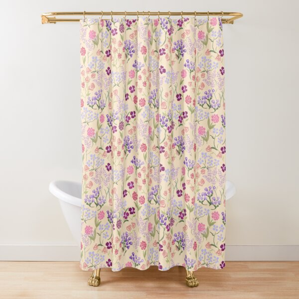 Imaginary Garden by Tea with Xanthe Shower Curtain