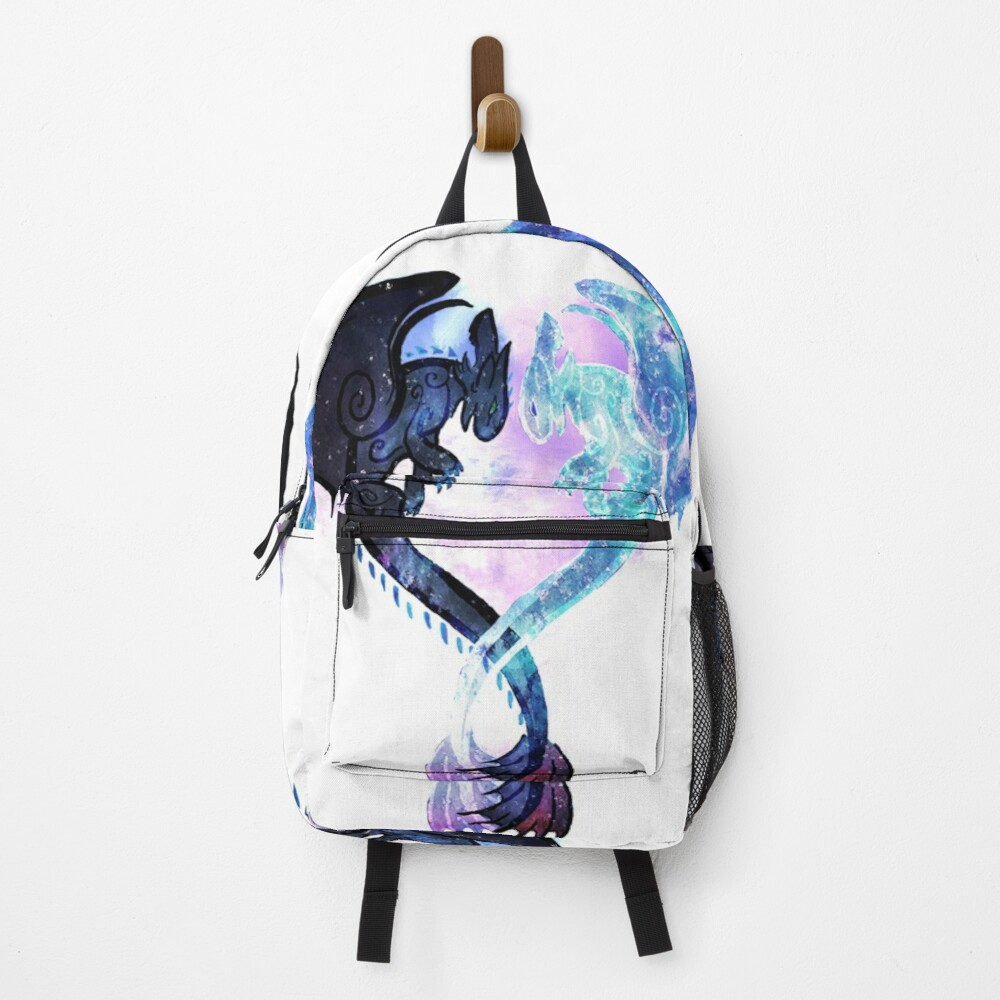 Dragon Heart Toothless and Light Fury Backpack