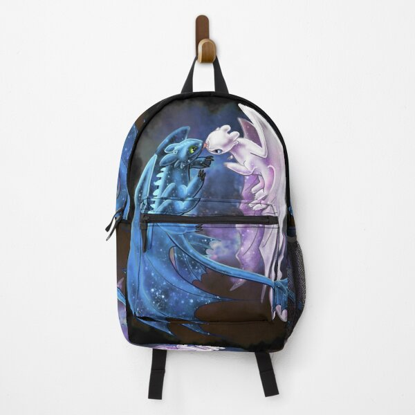 Dragon Heart - Starry Dragons - Toothless and Light Fury Backpack