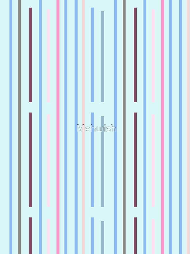 Cool Vertical Stripes by Mehwish