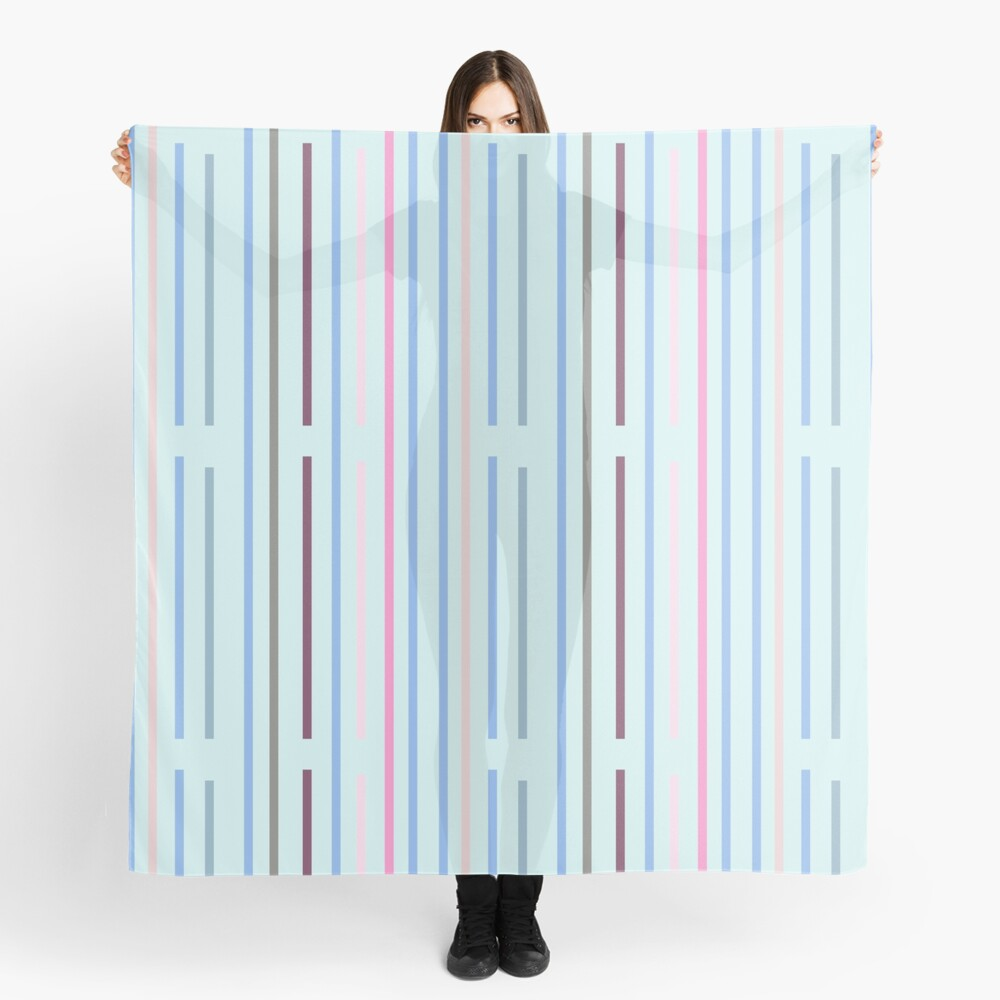Cool Vertical Stripes Scarf