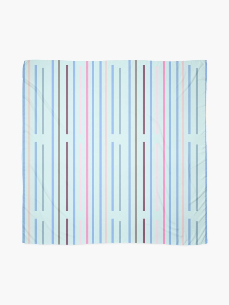 Alternate view of Cool Vertical Stripes Scarf