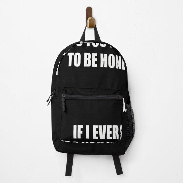 Honesty Backpack