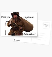 Belsnickel Dwight- The Office Postcards