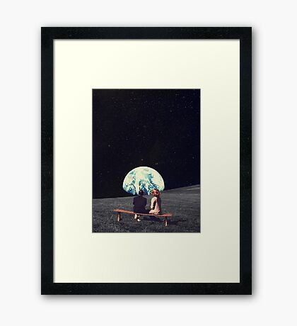 We Used To Live There Framed Print