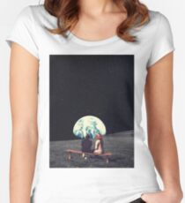 We Used To Live There Women's Fitted Scoop T-Shirt