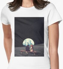 We Used To Live There Women's Fitted T-Shirt